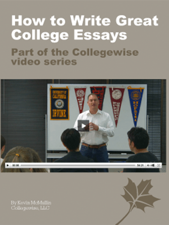 how to write great college essays video collegewise
